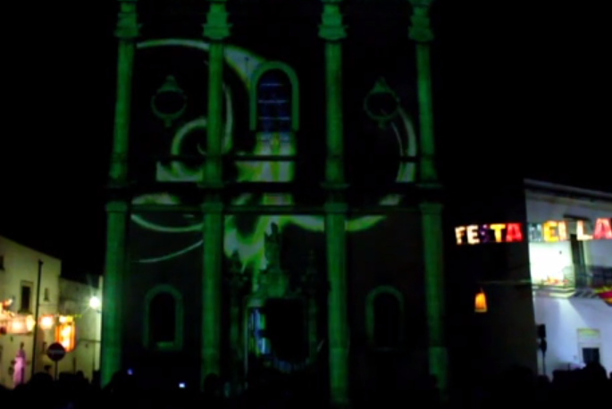 3D ARCHITECTURAL MAPPING @ FESTA DEI LAMPIONI - CALIMERA - 21 Giugno 2013