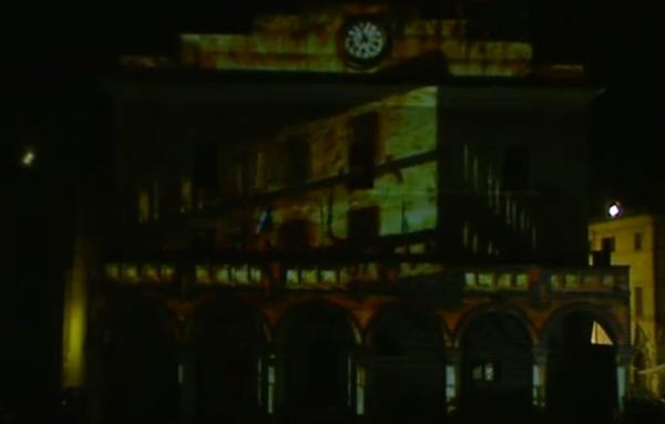 3D Video Mapping Comune di Montefalco Agosto 2013